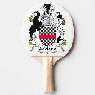 Escudo de la familia de Ackland Pala De Ping Pong
