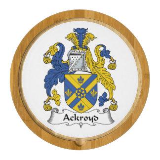 Escudo de la familia de Ackroyd