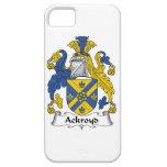 Escudo de la familia de Ackroyd iPhone 5 Case-Mate Protectores