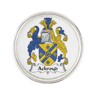 Escudo de la familia de Ackroyd Insignia
