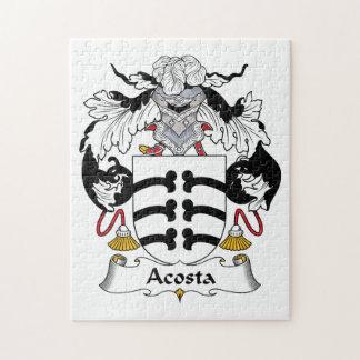 Escudo de la familia de Acosta Puzzle