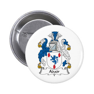 Escudo de la familia de Adair Pin Redondo 5 Cm