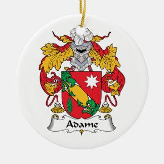 Escudo de la familia de Adame Adornos
