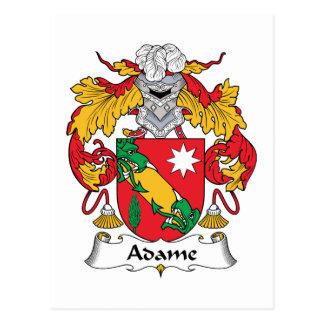 Escudo de la familia de Adame Postal