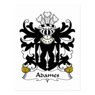 Escudo de la familia de Adames Postal