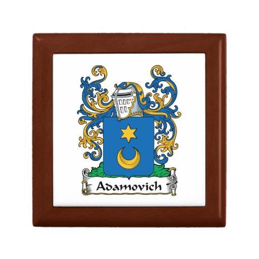 Escudo de la familia de Adamovich Caja De Joyas