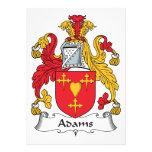 Escudo de la familia de Adams Anuncios