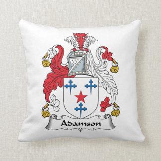 Escudo de la familia de Adamson Cojin