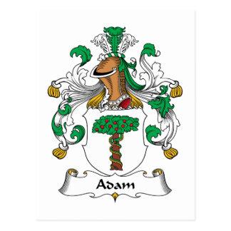 Escudo de la familia de Adán Postal