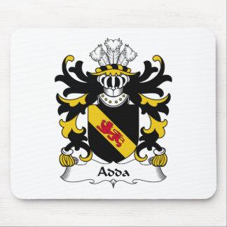 Escudo de la familia de Adda Mouse Pads