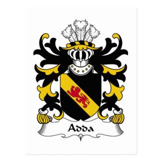 Escudo de la familia de Adda Postales