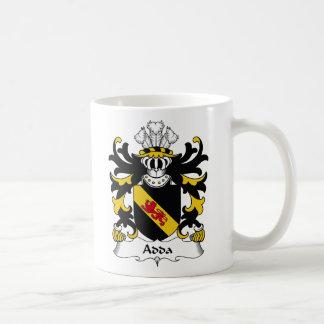 Escudo de la familia de Adda Tazas De Café
