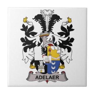 Escudo de la familia de Adelaer Azulejo Cerámica