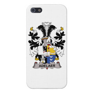Escudo de la familia de Adelaer iPhone 5 Coberturas