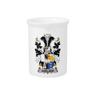 Escudo de la familia de Adelaer Jarras Para Bebida