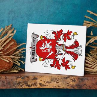 Escudo de la familia de Adelsteen Placas Con Foto