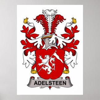 Escudo de la familia de Adelsteen Póster