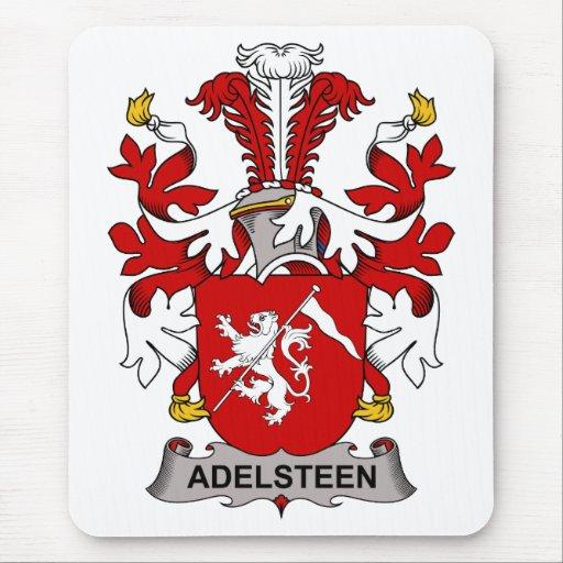 Escudo de la familia de Adelsteen Alfombrillas De Ratones
