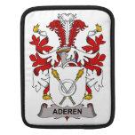 Escudo de la familia de Aderen Fundas Para iPads