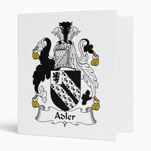 Escudo de la familia de Adler