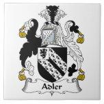 Escudo de la familia de Adler Azulejos Cerámicos