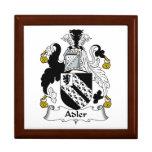 Escudo de la familia de Adler Cajas De Recuerdo
