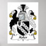 Escudo de la familia de Adler Impresiones