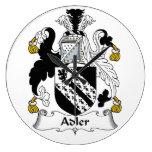 Escudo de la familia de Adler Reloj