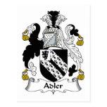 Escudo de la familia de Adler Tarjetas Postales