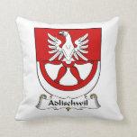 Escudo de la familia de Adlischwil Almohada