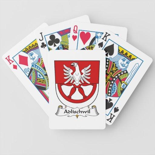 Escudo de la familia de Adlischwil Barajas De Cartas