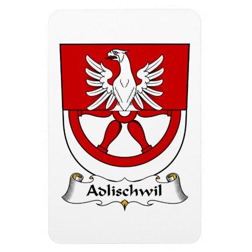 Escudo de la familia de Adlischwil Imanes Flexibles