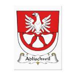 Escudo de la familia de Adlischwil Impresiones En Lona Estiradas