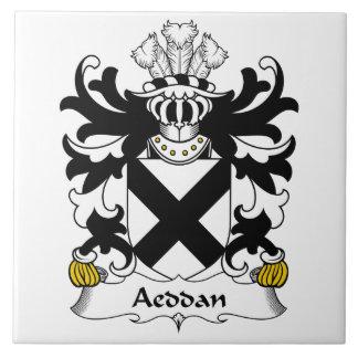 Escudo de la familia de Aeddan Azulejo