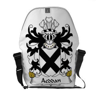 Escudo de la familia de Aeddan Bolsas De Mensajeria
