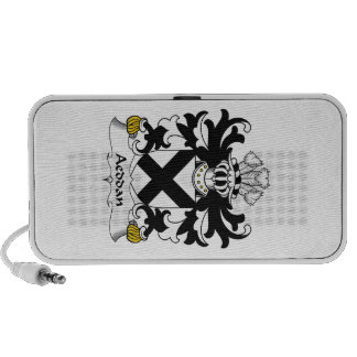 Escudo de la familia de Aeddan iPod Altavoz
