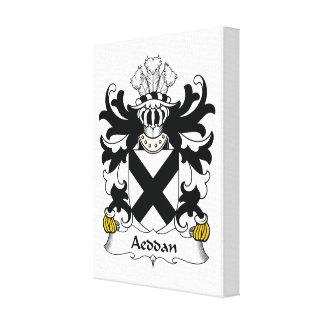 Escudo de la familia de Aeddan Impresiones En Lona Estiradas