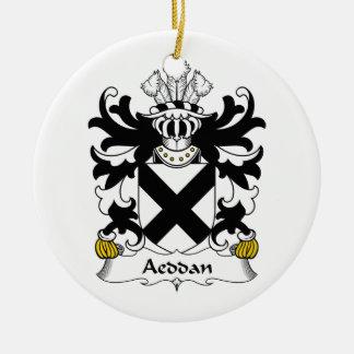Escudo de la familia de Aeddan Ornamentos De Reyes