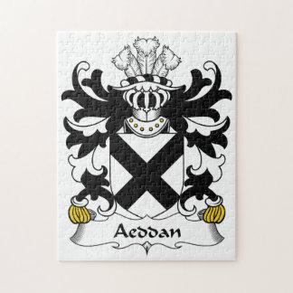 Escudo de la familia de Aeddan Rompecabeza Con Fotos
