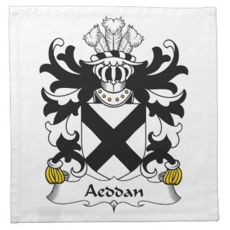 Escudo de la familia de Aeddan Servilleta