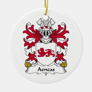 Escudo de la familia de Aeneas Ornamente De Reyes