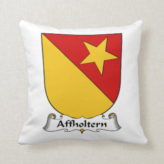 Escudo de la familia de Affholtern Almohadas