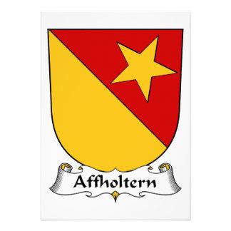 Escudo de la familia de Affholtern Anuncio