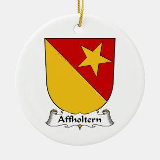 Escudo de la familia de Affholtern Ornamentos De Reyes