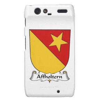 Escudo de la familia de Affholtern Droid RAZR Fundas