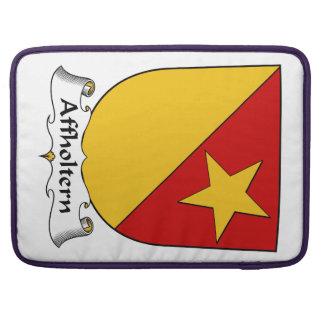 Escudo de la familia de Affholtern Funda Macbook Pro
