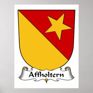 Escudo de la familia de Affholtern Impresiones