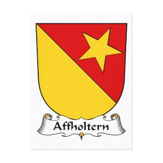 Escudo de la familia de Affholtern Impresiones De Lienzo