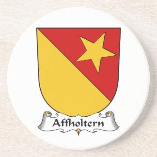 Escudo de la familia de Affholtern Posavasos Personalizados