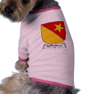 Escudo de la familia de Affholtern Camisetas De Mascota